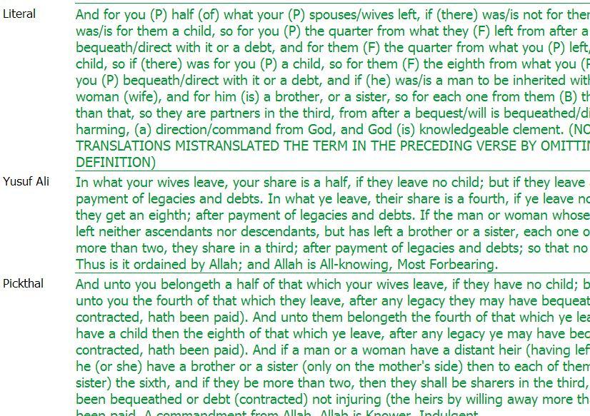 wealth in quran