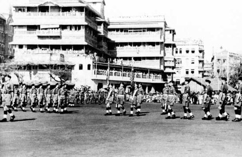 last british troops leave from india feb 1948 mumbai