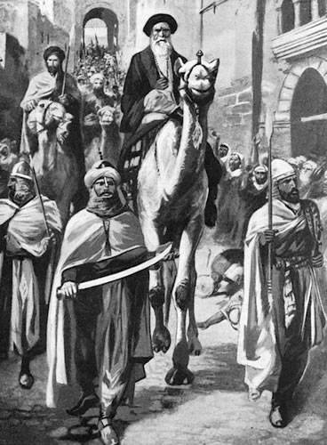 Muhammad enters Mecca in December 629
